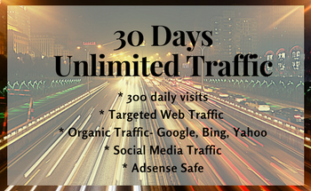 Small 30 day unlimited traffic