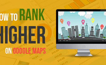 Small rank higher in google maps