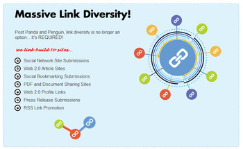 Small seo link diversity