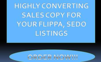 Small flippa domainsales.copy website sedo salescopy website.designer flippa.bids copywritter domain.name