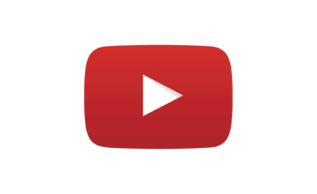 Small youtube logo play icon