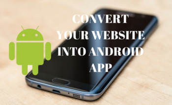 Small convert your website into android app