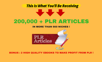 Small 200 000   plr articles