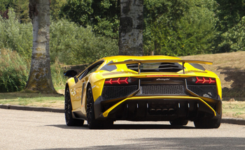 Small small aventador sv geel c c