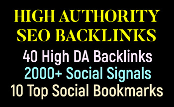Small high authority seo backlinks