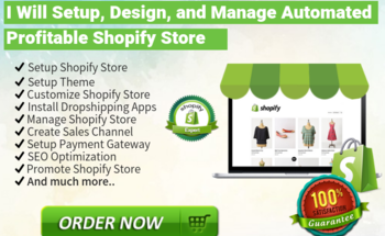 Small i will add top selling shopify dropshipping product