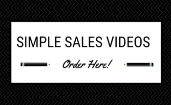 Small simple sales videos