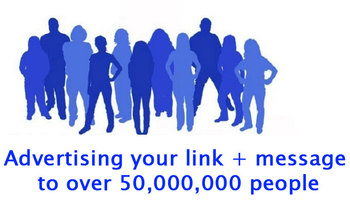 Small 100 000 social media traffic funnel   50 million group post advertising service