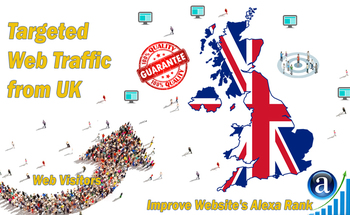 Small send targeted uk organic traffic