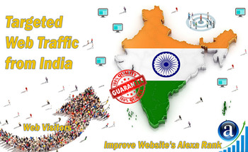 Small send 25000 india web visitors real targeted geo traffic