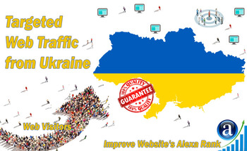 Small send 25000 ukraine web visitors real targeted geo traffic
