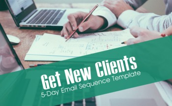 Small get new clients email template