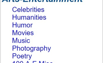 Small arts   entertainment article pack