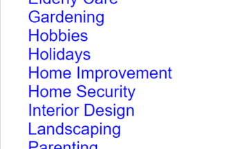 Small home   family article pack