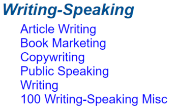 Small writing   speaking article pack