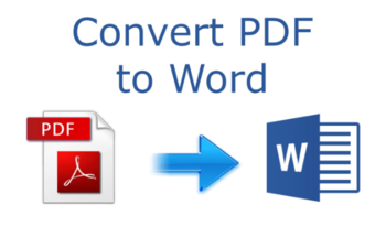 Small conversion file pdf word excel