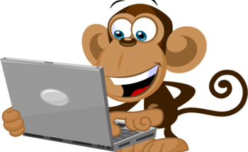 Small monkey laptop 2