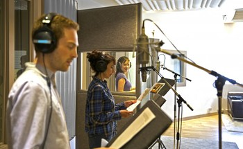 Small voiceover recording dubbing adr
