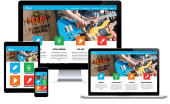 Small kentucky state fair responsive website design by hatfield media