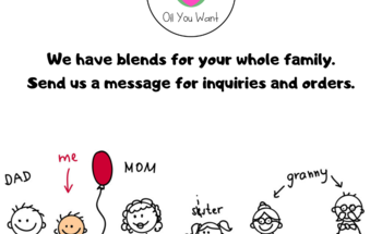Small we have blends for your whole family