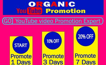 Small youtube views promotion
