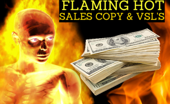 Small high converting sales copy and video sales letters