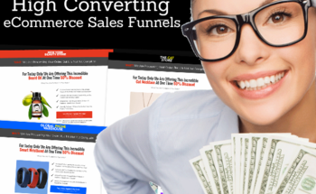 Small high converting ecom sales funnels