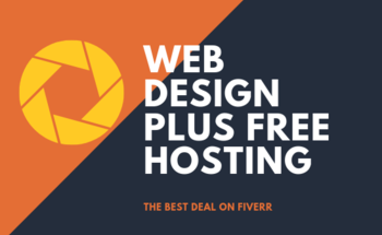Small web design plus free hosting