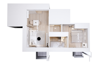 Small apartment hk plan