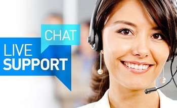Small chat live support