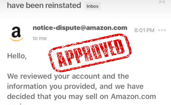 Small reinstate amazon seller account suspension appeal letter