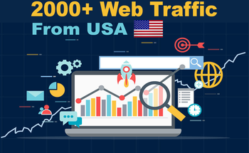 Small send real 500 000 usa web traffusaaaaic visitors to your website