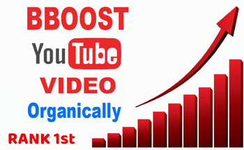 Small boost up your youtube video organically and real