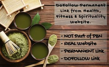 Small guest post on my health website permanent dofollow link
