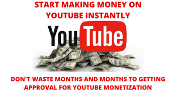 Small start making money on youtube instantly