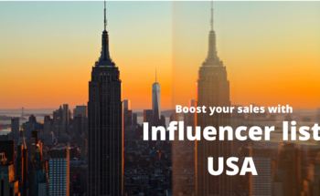 Small influencer list usa