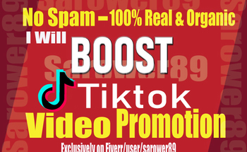 Small do organic tiktok video promotion professionally viral