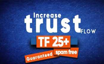 Small increase majestic trust flow with high tf cf dofollow backlinks