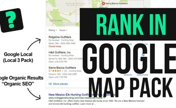 Small google local 3 pack