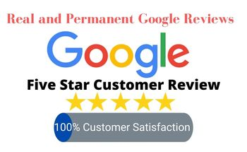 Small real and permanent google reviews