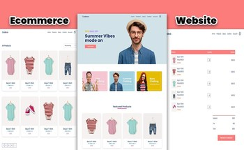 Small ecommerce website
