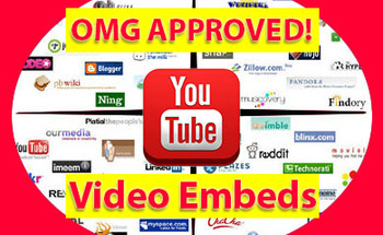 Small rank youtube video embeds web 2.0
