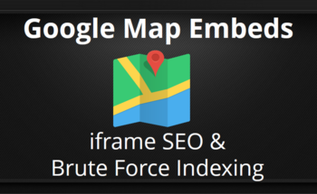 Small google map embeds