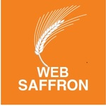 Medium saffron logo