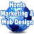 Thumb logo web marketing internet design